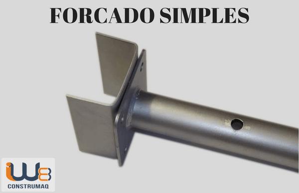 forcado simples escora